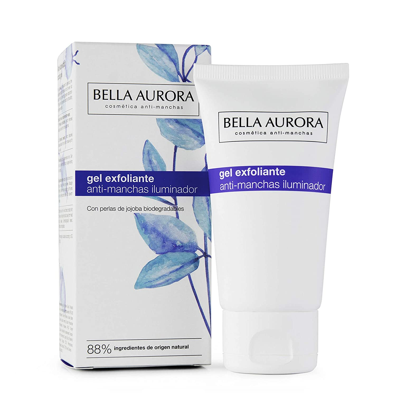 Bella Aurora Gel Exfoliante Facial Anti-Manchas | Limpia la Piel en Profundidad | Peeling Facial Enzimático para la Cara, 75 ml (4098310)