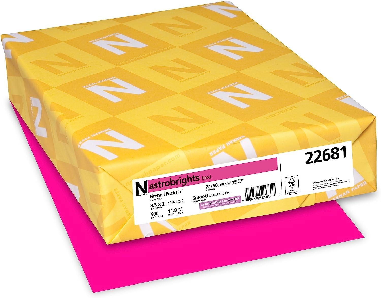 - Amazon.com : Neenah Astrobrights Premium Color Paper, 24 Lb, 8.5 X