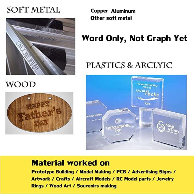 PW cnc1310 grabado Macine Router con All Metal marco para suave metal grabado corte aluminio cobre máquina para tallar madera PVC PCB, ...