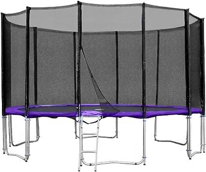 Sprungmatte mit 84 Federlaschen für Trampolin und Gartentrampolin 396 bis 400 cm