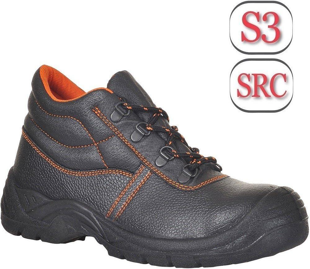 Size: 36 Regular Black Scuff Cap S3 Portwest FW24BKR36 Steelite Kumo Boot
