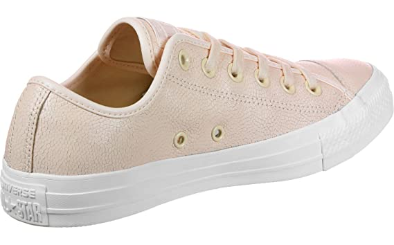 f5be872cf81c Amazon.com  Converse All Star Ox Womens Sneakers Nude  Clothing