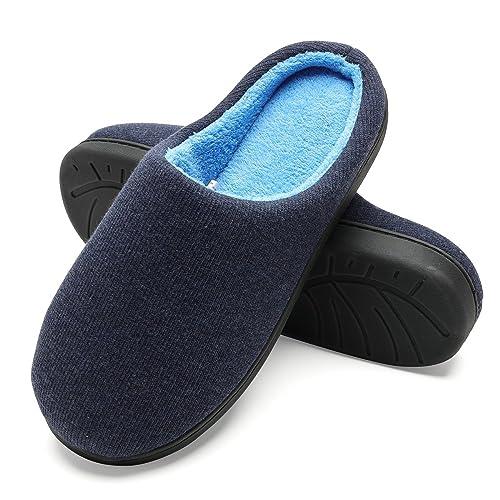 Zapatillas de Casa de Hombre - Zapatillas Casa Ultraligero Cómodo y Antideslizante, Zapatilla de Estar Invierno por Casa para Hombre Fluff Antideslizantes: ...