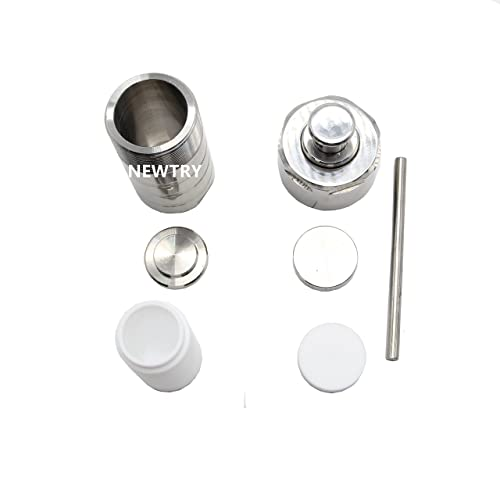 NEWTRY 50ML Hydrothermal Synthesis Autoclave Reactor Stainless Steel Digestion Tank High Pressure Lab Tool with PTFE Liner Teflon-Lined