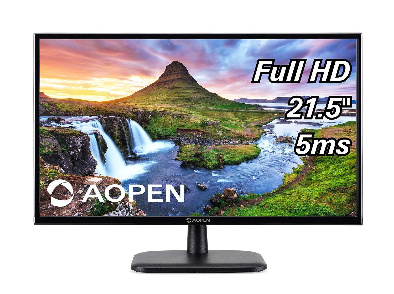 "AOPEN 22CV1Q bi 21.5"" Full HD (1920 x 1080) VA Monitor for Work or Home (1 x HDMI & VGA Port)"