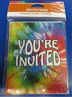 Amazoncom Creative Converting Tie Dye Fun 8 Count Party