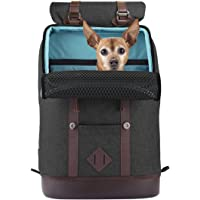 Kurgo Dog Carrier Backpack for Small Pets - Dogs & Cats | TSA Airline Approved | Cat | Hiking or Travel | Waterproof…