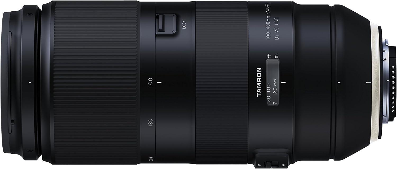 Tamron 100 – 400 mm f/4.5 – 6.3 VC USD Lente de Zoom telescópico ...