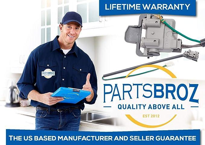 3949247 Repuesto de interruptor de tapa de arandela para lavadoras ...