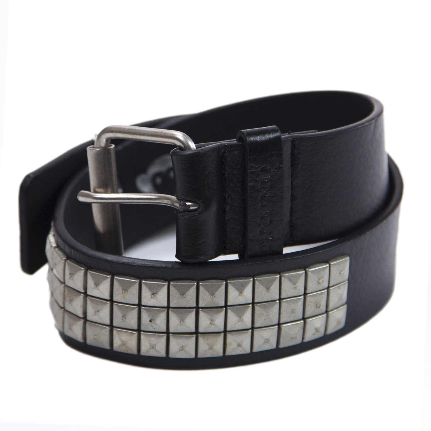 Appaman Big Boys' Pyramid Studded Belt Large (5-7 Years) Black