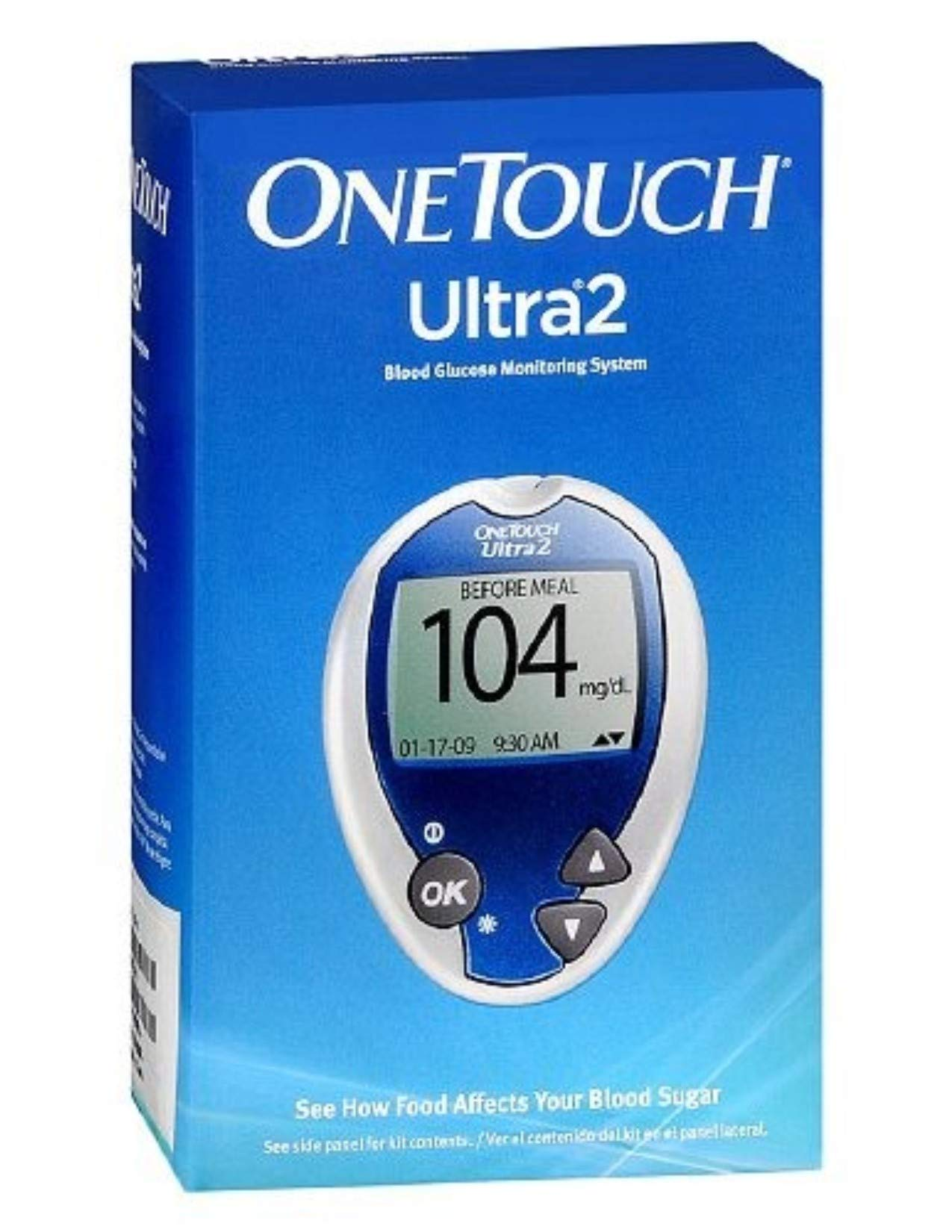 Onetouch Ultra2 Glucose Monitoring Kit with Improved Delica Plus Lancet Device by Onetouch Ultra2