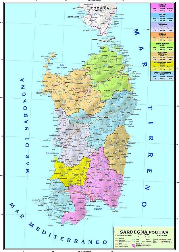 Cartina Francia Sud Dettagliata.Penal Cleanse Curat Cartina Politica Della Sardegna Amazon Mariacastrojato Com