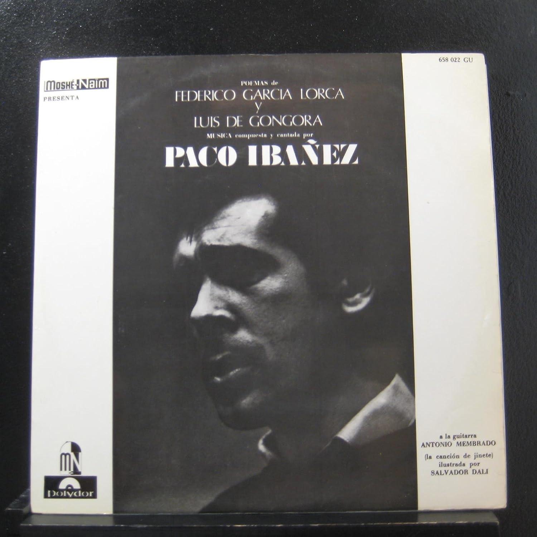 Poemas De Federico García Lorca Y Luis De Góngora: Paco Ibáñez ...
