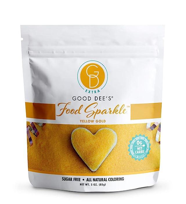 Top 9 Gold Glitter Food