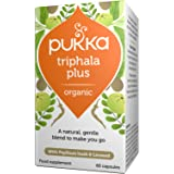 Pukka Herbs Organic Triphala Plus Capsules, Pack of 60
