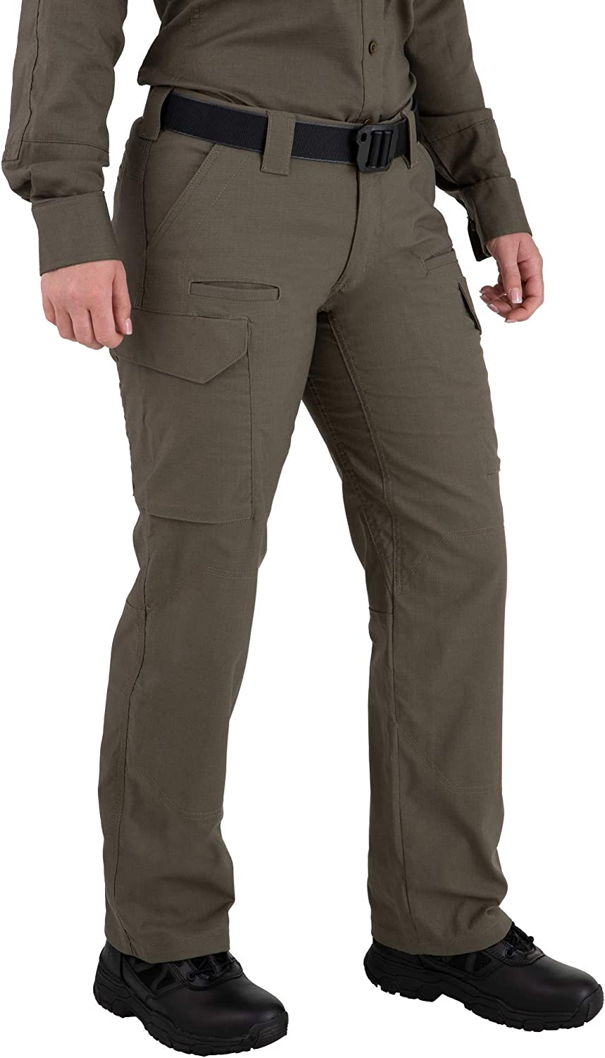 First Tactical V2 Women/'s Tactical Pant Micro Ripstop Fabric with Teflon Shield Stain Repellent