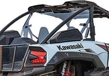 - Easy to Install SuperATV Heavy Duty Bed Enclosure for Kawasaki Teryx KRX 1000 Makes Securing Cargo Easy! 2020+