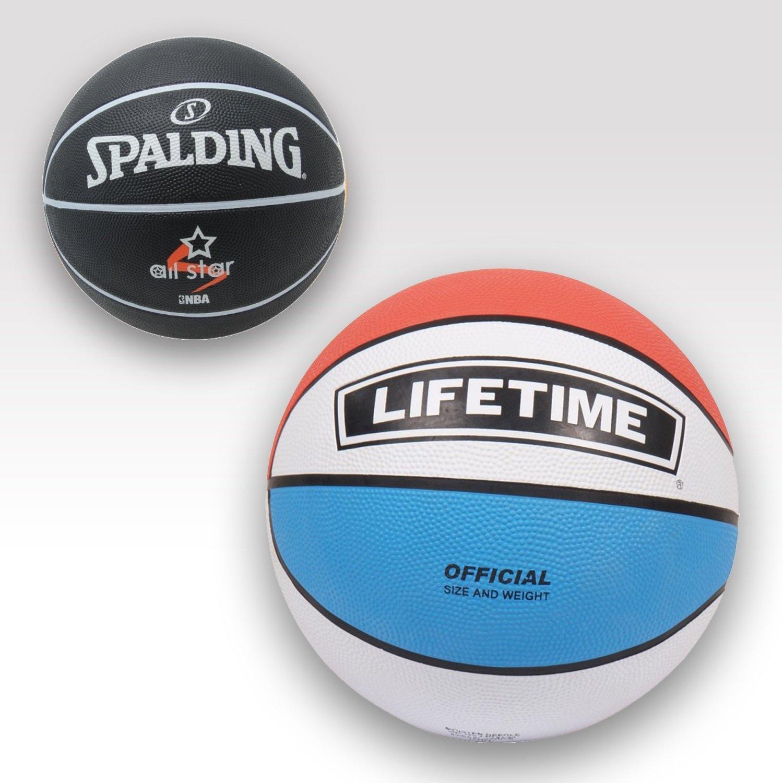 Lifetime Juego de baloncesto 2 piezas: Modelos Virginia y tricolor ...