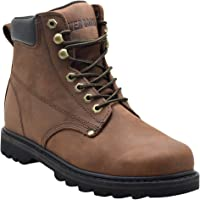 Ever Boots Tank Men's Soft Toe Oil Leather Insulated Work Boots