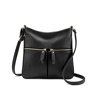 Cross Body Bag for Women Small Shoulder Bag Quality Faux Leather Multi  Pocket bag Ladies Travel 25719579d1b42