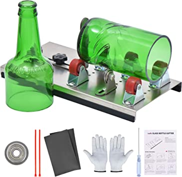 Zalava - Cortador de botellas de cristal de acero inoxidable ...