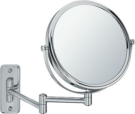 Sanwood 6650710 Miroir mural BEA métal satiné