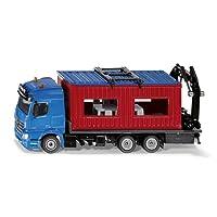 SIKU - 0 - Camion avec Bungalow de Chantier