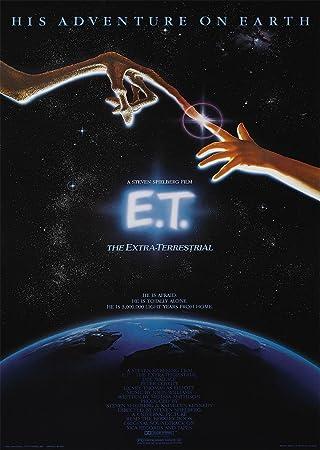 Amazon.com: Steven Spielberg E.T de la película A4 cartel ...