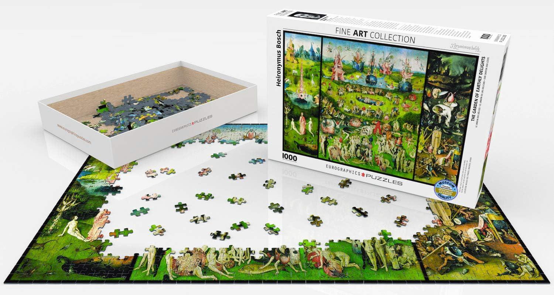 The Garden of Earthly Delights Puzzle: Eurographics: Amazon.es: Juguetes y juegos