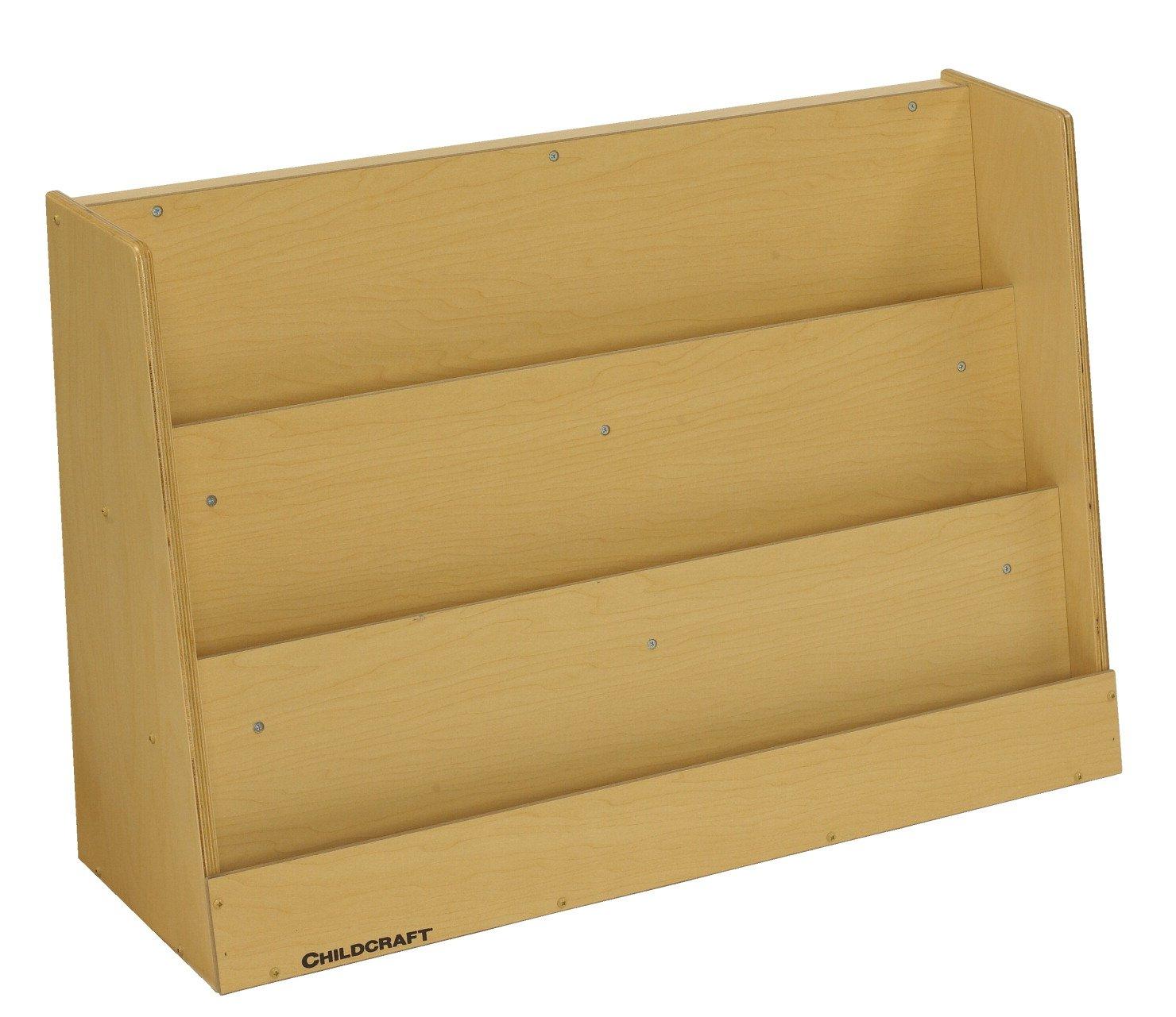 Childcraft Toddler 3-Shelf Book Display, 36 W x 12 D x 24 H in