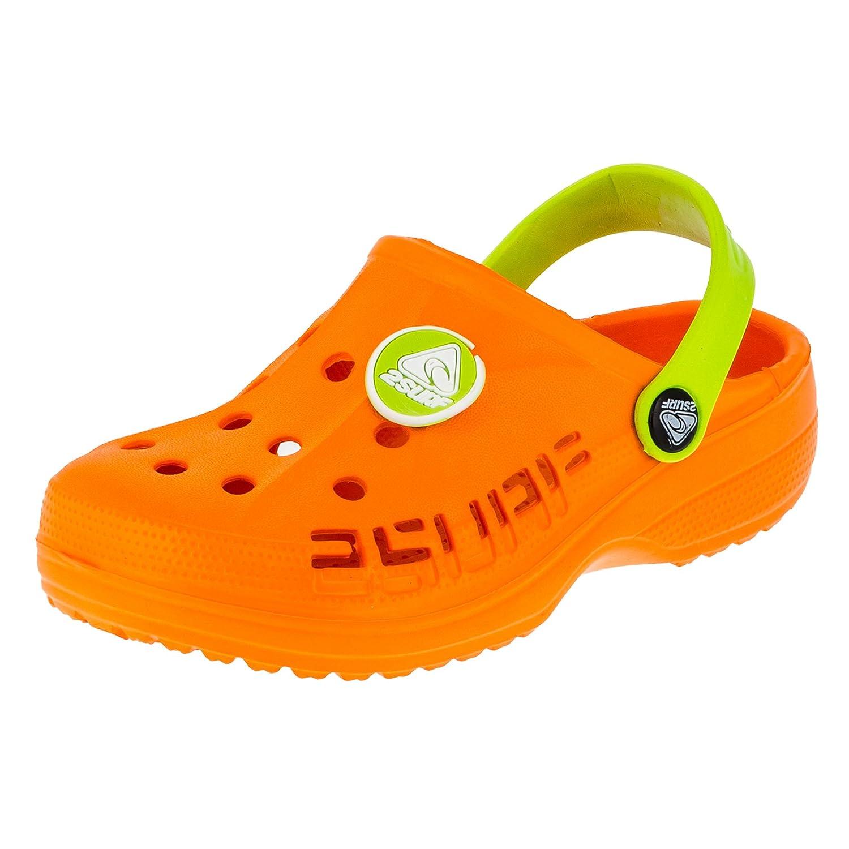 2 Surf Kinder Clogs Badeschuhe Sandalen für Jungen und Mädchen in Vielen Farben