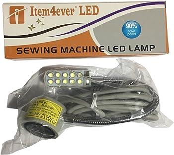 item4ever 110V 10-Led Magnetic Base Working Lamp