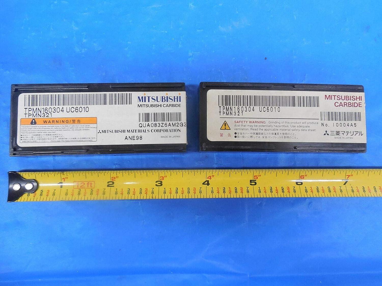 13pcs New MITSUBISHI TPMN 321 160304 UC6010 Carbide Insert TPMN321 CNC Tooling