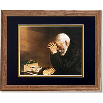 Amazon Com Daily Bread Man Praying At Dinner Table Grace