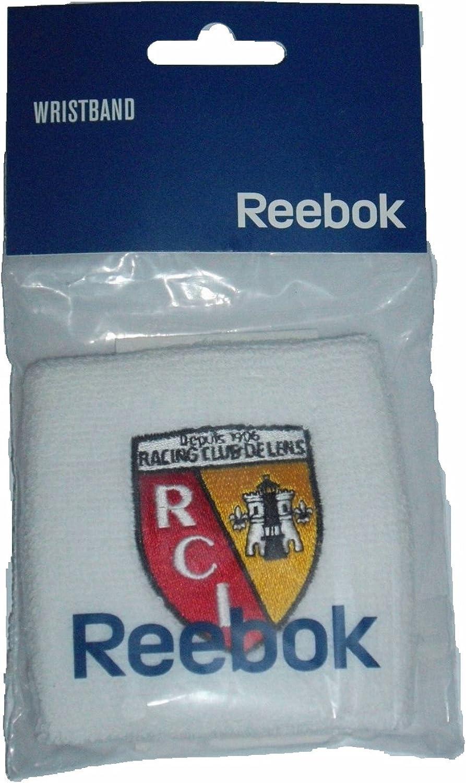 Reebok Bandeau Poignets en Tissu /éponge France rC Lens-Blanc