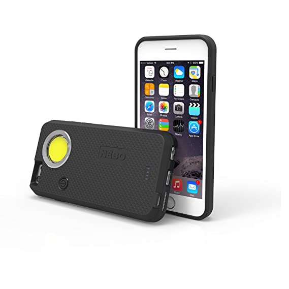 the latest 2f2e4 d343f Nebo CaseBrite Cell Phone Case for iPhone 6 and 6s - Black