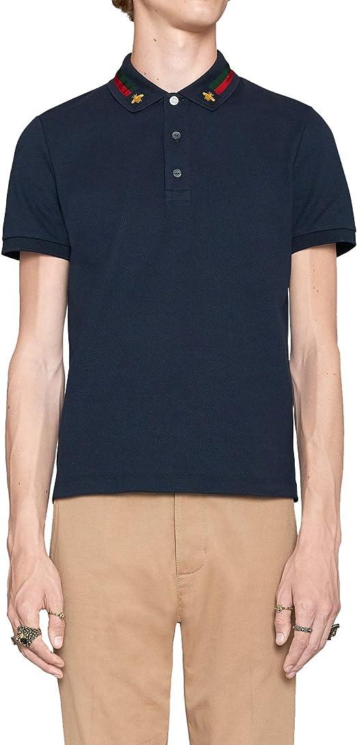 Gucci - Polo de Algodón para Hombre (MNO453865X5H77): Amazon.es ...