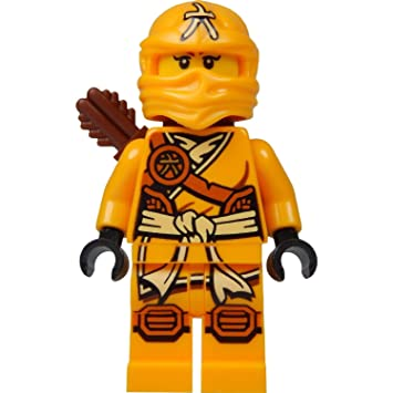 LEGO Ninjago Minifigure - Skylor Female Orange - Gold Ninja ...