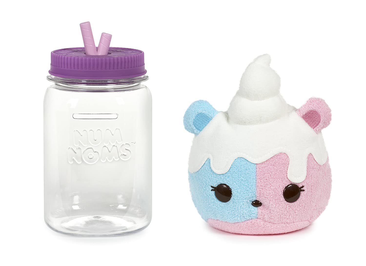 MGA Entertainment Num Noms Surprise in a Jar - Candie Puffs Multicolor - Juguetes de Peluche (Multicolor, 3 Año(s), Niño/Niña, CE, 88,9 mm, ...