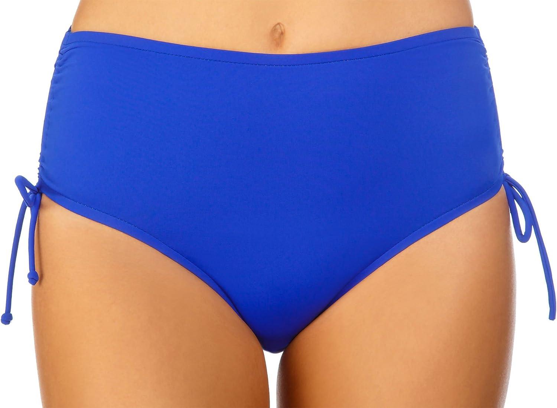 Caribbean Joe Womens The Bottom Line Adjustable Brief Bikini Bottom