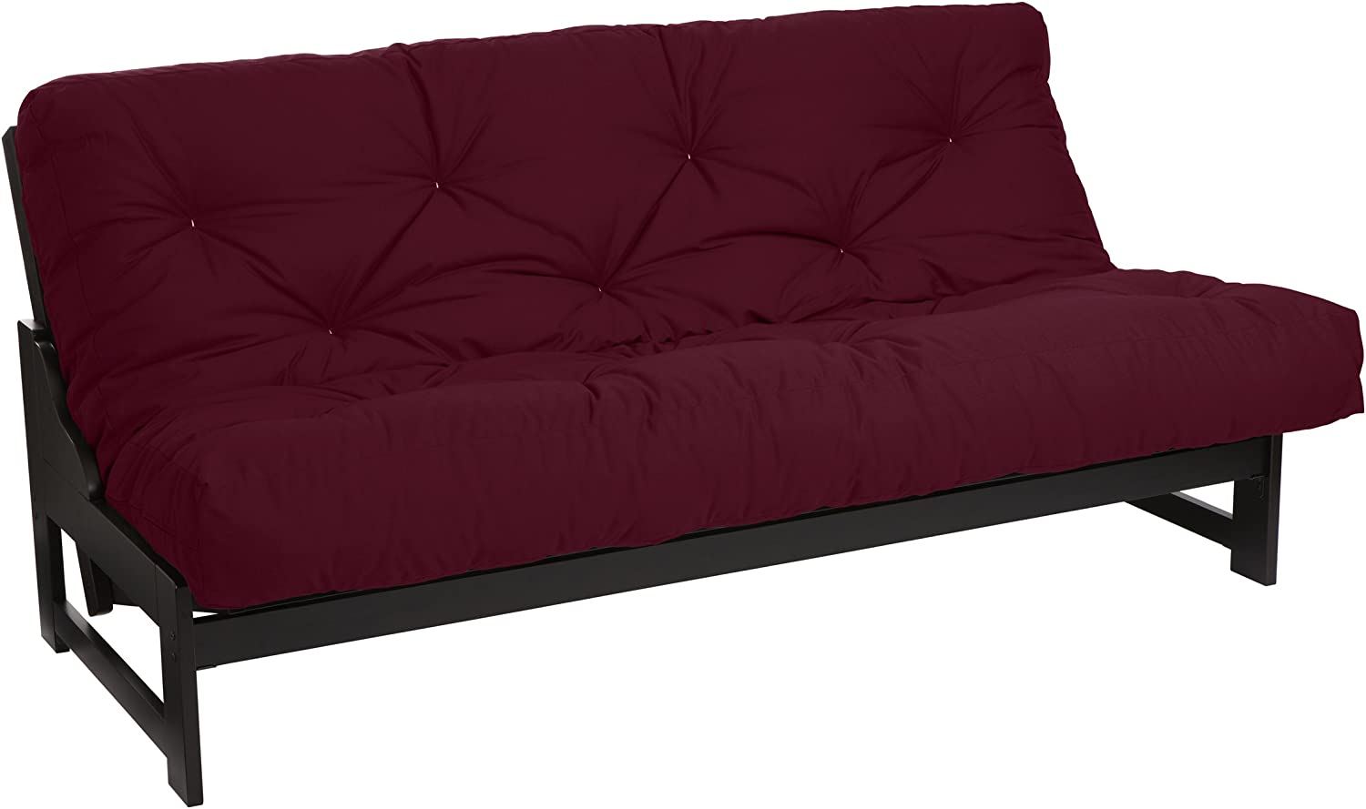 Mozaic Futon Mattress, Queen, Burgundy