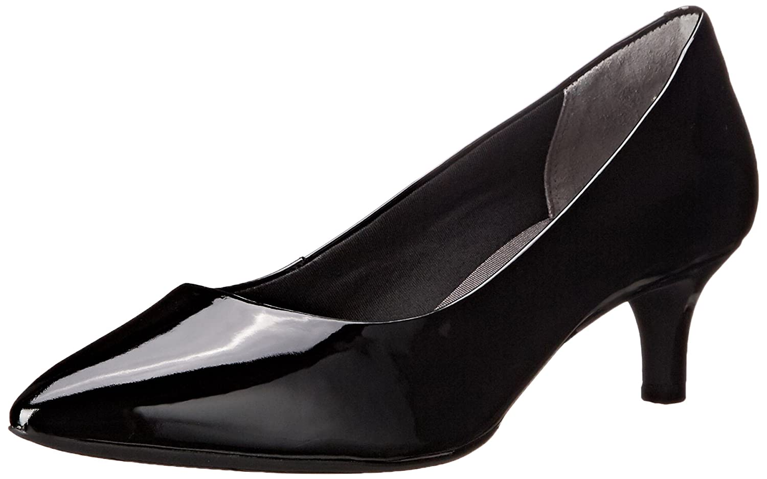 Rockport Women's Total Motion Kalila Dress Pump B013QSCJDI 5 W US|Black Patent
