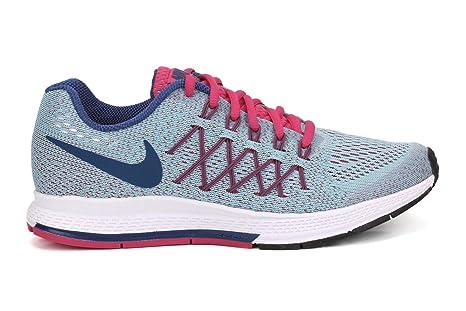 Nike Zoom Pegasus 32 los zapatos corrientes de grado de la escuela los niños
