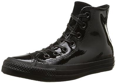 Converse. Men. . all star hi patent/suede. black (black). 3.5