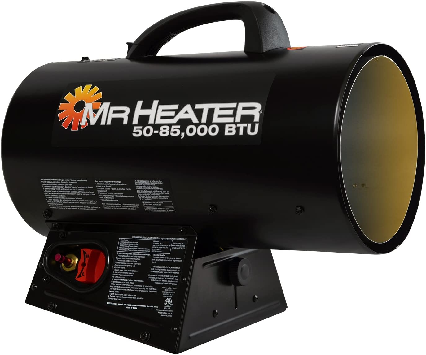 Mr. Heater F271380 MH85QFAV Forced Air Propane Heater