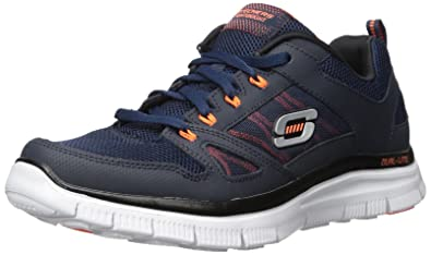 Skechers Flex Advantage Men's Low-Top Sneakers, Azul (Blau (Nvor))