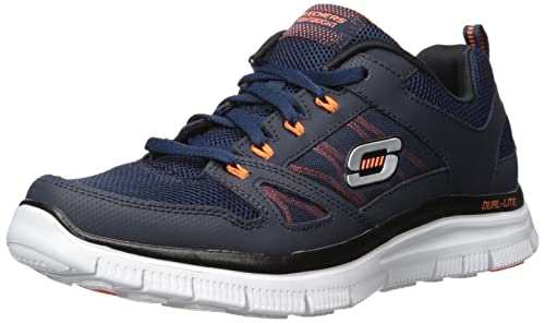 online store c8dcd cea4b Skechers Flex Advantage Sneaker a Collo Basso Uomo Skechers Amazon.it  Scarpe e borse