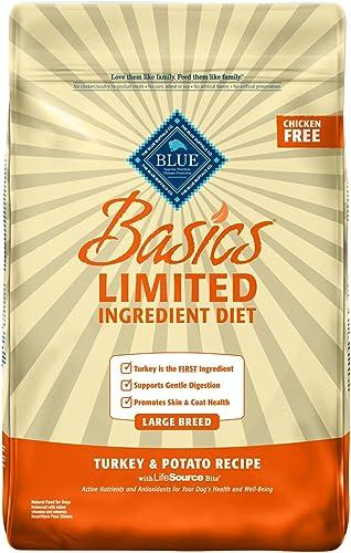 Blue Buffalo Blue Basics Large Breed Adult Turkey Potato Recipe Dry Dog Food