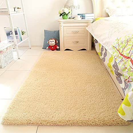 Amazon Com Maxyoyo Super Soft Sherpa Bedside Rug Runners Fluffy