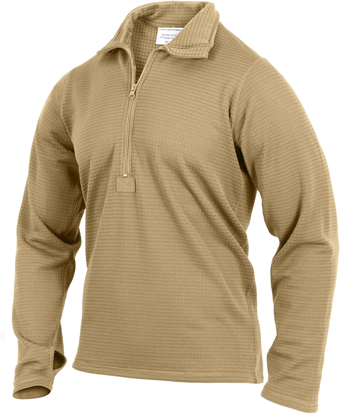 Rothco ECWCS Gen III Mid-Weight Underwear Top (Level II): Clothing